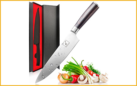 Best Chef Knives Imarku SC10-01 - Best Beginner Chef Knife under 100 Dollars
