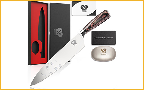 Best Chef Knives Maranc B075VF4Q13 - Best Chef Knife under 100 Dollars for Gifts
