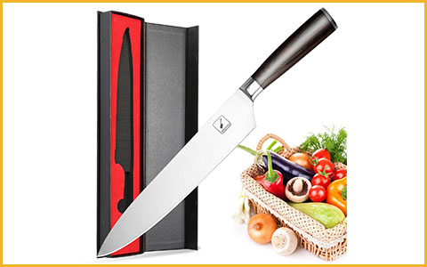 "Best Chef Knives under 50 Dollars Imarku 10-inch - Best Chef Knives under 50 Dollars with 10"" Blades"