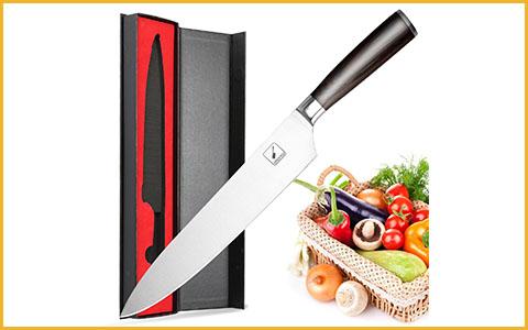 "Best Chef Knives under 50 Dollars Imarku 10-inch - Best Chef Knives under 50 Dollars with 10"" Blades"