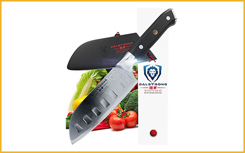 Best Santoku Knife Dalstrong Mini - Best Mini Santoku Knife
