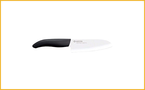 Best Santoku Knife Kyocera Revolution FK-140 WH - Best Ceramic Santoku Knife