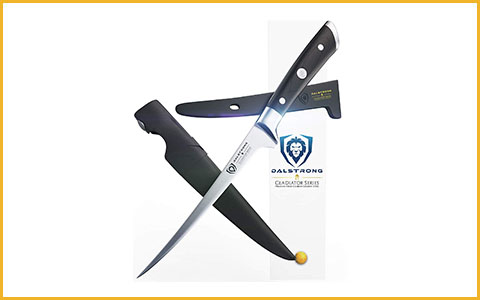 Best Fillet Knife to Buy DALSTRONG GS-7inch-filet - Best Fillet Knife of 2018