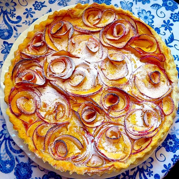 cardamom apple tart Done and Dusted