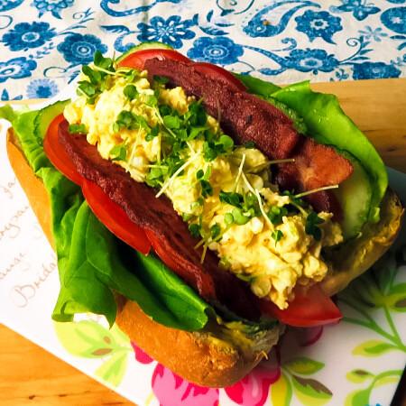 Best view of sub sandwich