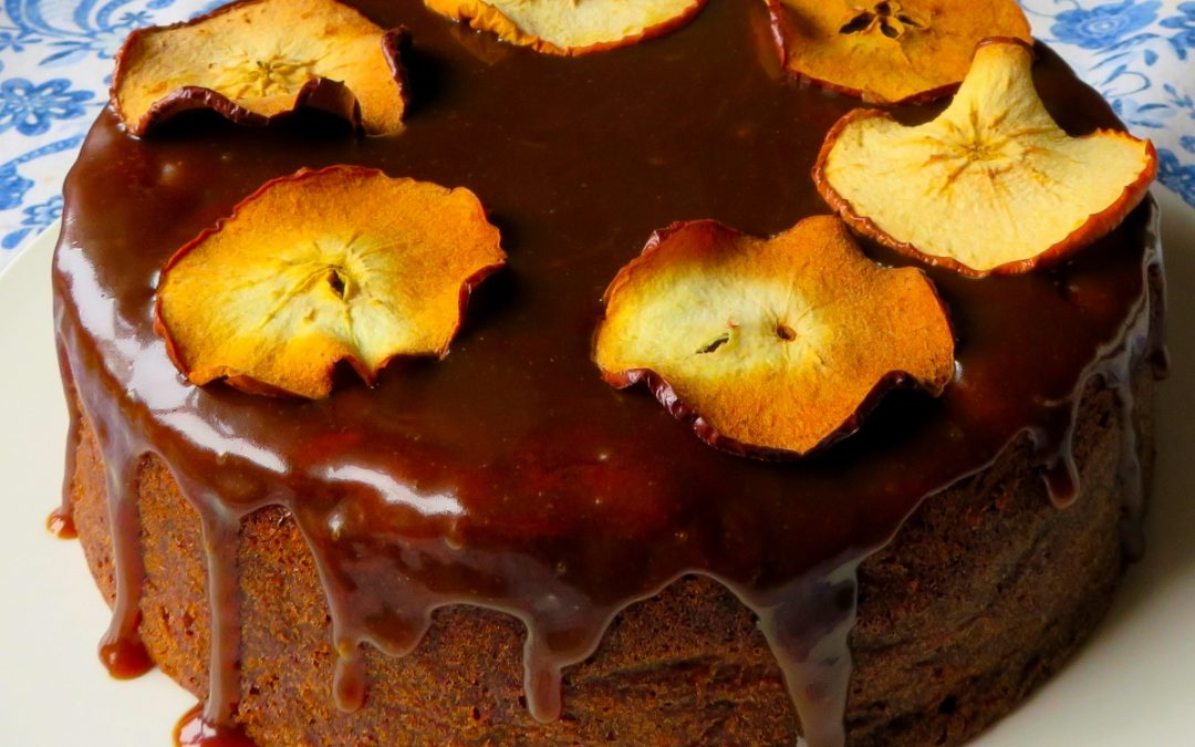 Moist and Spicy Toffee Apple Cake | Marie Rayner