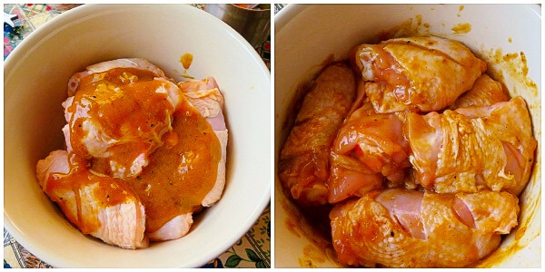 4_Marinating chicken