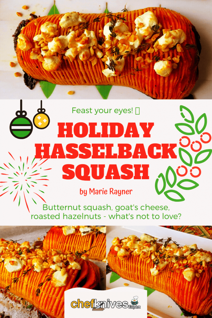 hasselback holiday squash pin